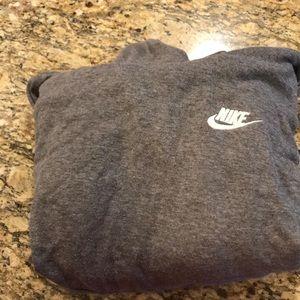 Grey Nike Cowl neck sweatshirt